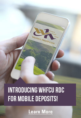 Introducing WHFCU DC for Mobile Deposits